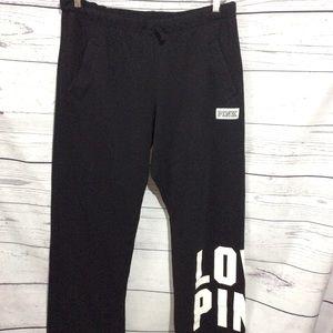 PINK Sweatpants Size Large